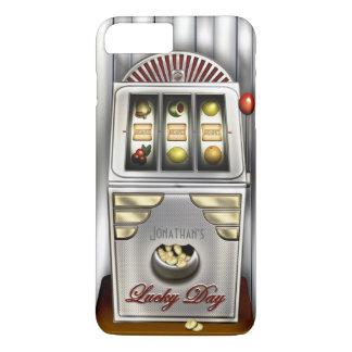 Funny Retro Slot Machine iPhone 8 Plus/7 Plus Case
