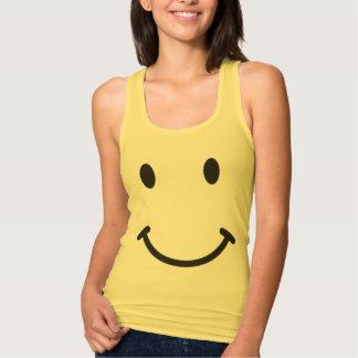Funny Retro Smiley face Tank Top