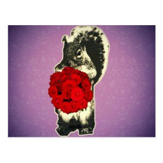 Funny Retro Valentines Day Postcard