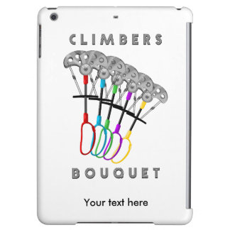 Funny Rock Climbing Romantic Design Case For iPad Air
