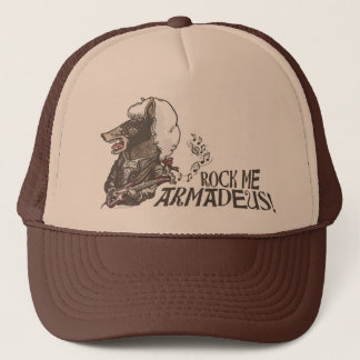 Funny Rock Me Armadeus Gear Trucker Hat