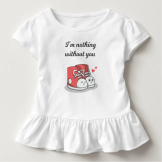 Funny Romantic Nothing Without You | Ruffle Tee