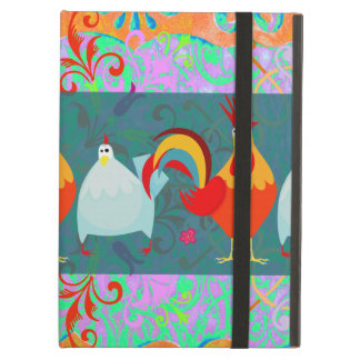Funny Rooster Hen Funky Chicken Farm Animal Gifts Cover For iPad Air