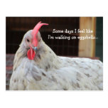 Funny Rooster with Saying