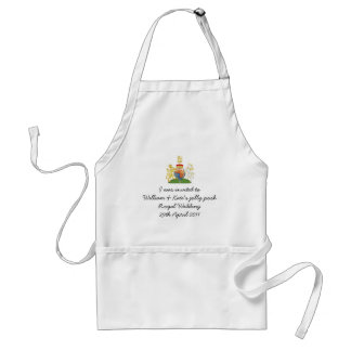 Funny Royal Wedding Apron souvenir