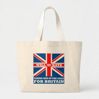 Funny Royal Wedding Tote Bag