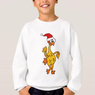 Funny Rubber Chicken Christmas Cartoon Sweatshirt