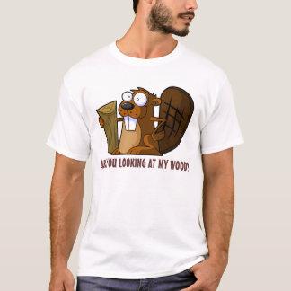Funny rude Beaver T-Shirt
