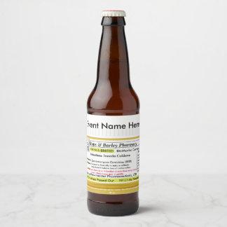 Funny RX Beer Label