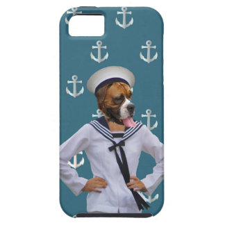 Funny sailor dog character case for the iPhone 5