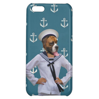 Funny sailor dog character iPhone 5C covers
