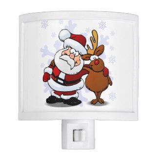 Funny Santa and Nite Light