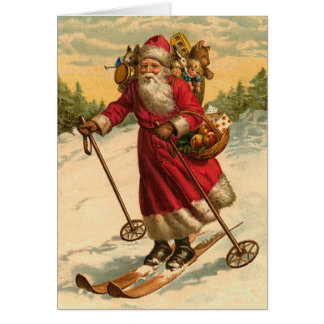 Funny Santa Christmas Card
