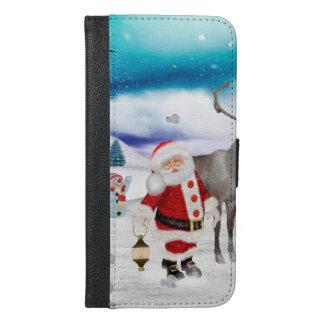 Funny Santa Claus iPhone 6/6s Plus Wallet Case