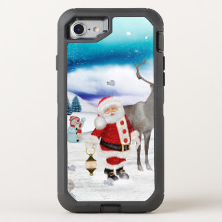 Funny Santa Claus OtterBox Defender iPhone 8/7 Case