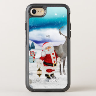 Funny Santa Claus OtterBox Symmetry iPhone 8/7 Case