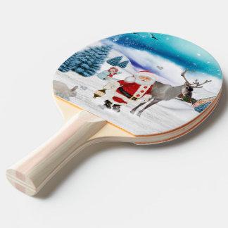 Funny Santa Claus Ping Pong Paddle
