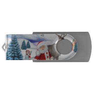 Funny Santa Claus USB Flash Drive