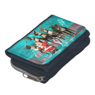 Funny Santa Claus Wallet