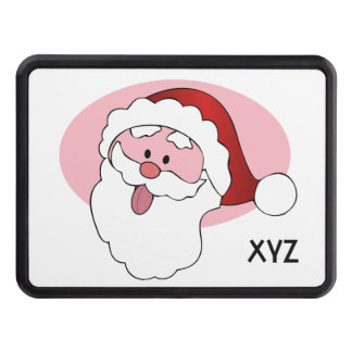 Funny Santa custom hitch cover