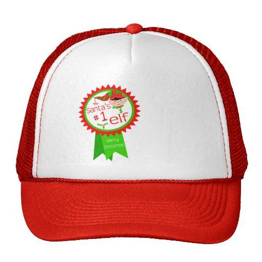 Funny Santa's Elf Christmas Mesh Hats