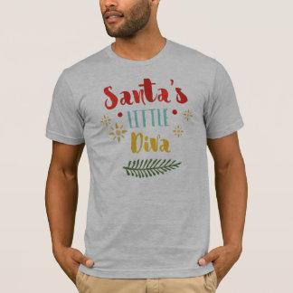 Funny Santa's Little Diva Christmas | Shirt