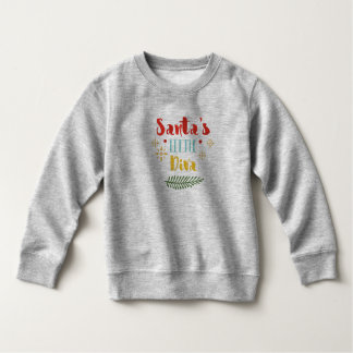 Funny Santa's Little Diva Christmas | Sweatshirt