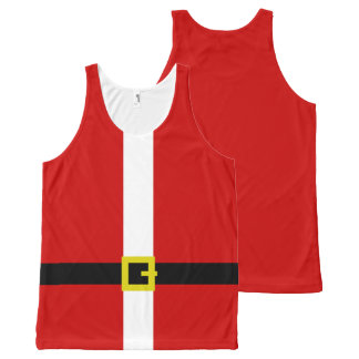 Funny Santa's Suit ~ Christmas All-Over-Print Tank Top
