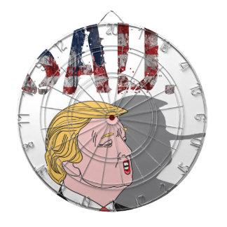 Funny sarcastic anti President Donald Trump Dartboard