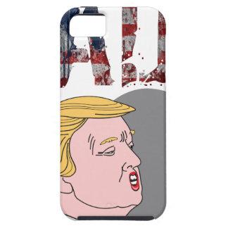 Funny sarcastic anti President Donald Trump iPhone 5 Case