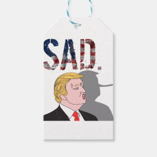 Funny sarcastic anti President Donald Trump Pack Of Gift Tags