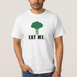 Funny, Sarcastic, EAT ME. Angry Broccoli shirt