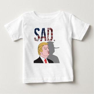 Funny sarcastic sad anti President Donald Trump Baby T-Shirt