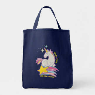 Funny Sarcastic Unicorn Too Majestic For Your BS Tote Bag
