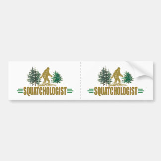 Funny Sasquatch | Big Foot | Believe! Bumper Sticker