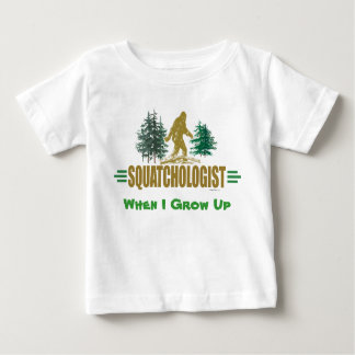 Funny Sasquatch Hunter Baby T-Shirt