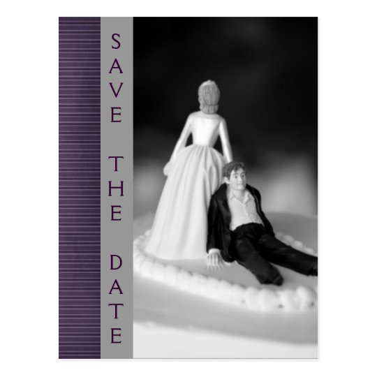 Funny Save The Date Announcements Postcard