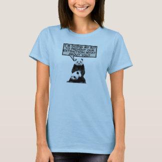 Funny save the Panda T-Shirt