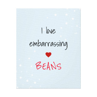 Funny Saying Canvas Print