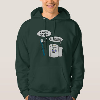 Funny Saying I Hate My Job Hoodie