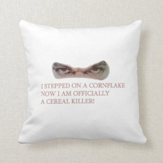Funny Sayings Designs for Throw Cushion