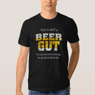 Funny Sayings | Not a BEER GUT Tshirt