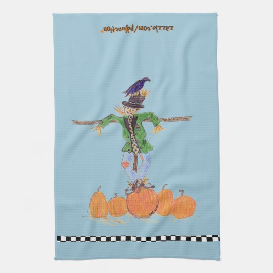 Funny Scarecrow Hand Towel