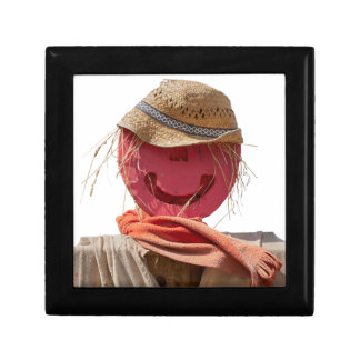 funny scarecrow in the farm jewelry boxes