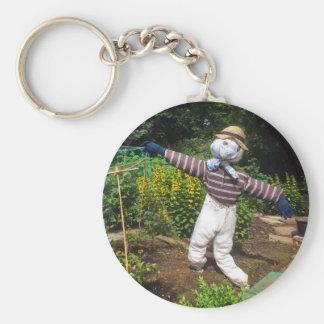 Funny scarecrow keychain