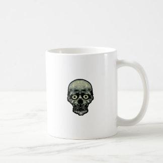 Funny Scared Skull Artwork Coffee Mug