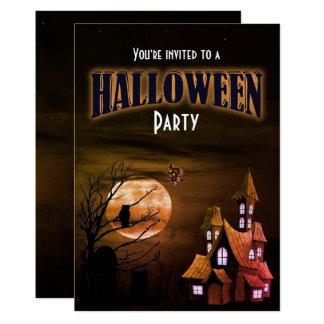 Funny Scary Halloween Party Invitation