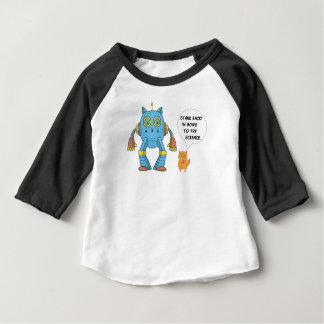 Funny Science And Engineering Feline Kitten Baby T-Shirt