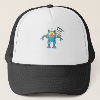 Funny Science And Engineering Feline Kitten Trucker Hat
