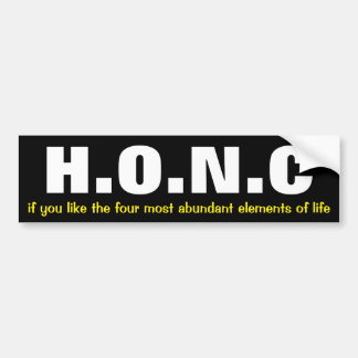funny science bumper sticker
